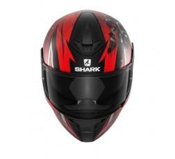 D-SKWAL 2 ATRAXX by Shark full face motorcycle helmet red 3