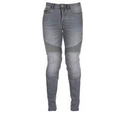 Cowboy / motorcycle jean woman LADY PURDEY by FURYGAN with D3O Denim protections grey 2