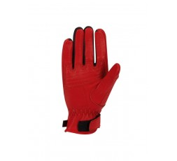 LADY HORSON red leather motorcycle gloves by SEGURA 2