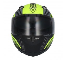 SH-881 SV MOTEGI Yellow full face helmet by SHIRO 2