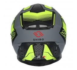 SH-881 SV MOTEGI Yellow full face helmet by SHIRO 3