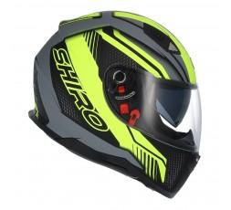 SH-881 SV MOTEGI Yellow full face helmet by SHIRO 4