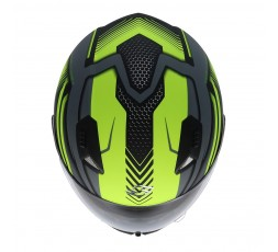 SH-881 SV MOTEGI Yellow full face helmet by SHIRO 5