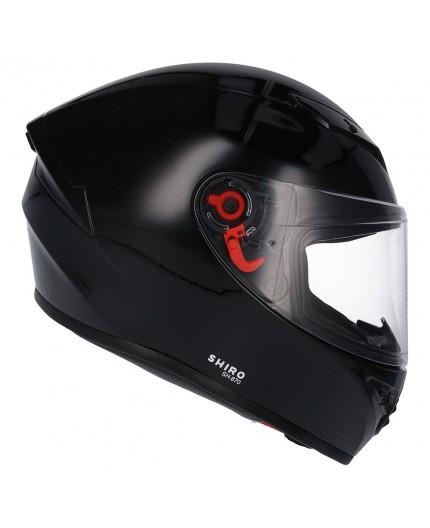 Casco integral SH-870 de SHIRO Negro