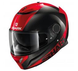 SHARK red / black SPARTAN CARBON SKIN full face helmet 1