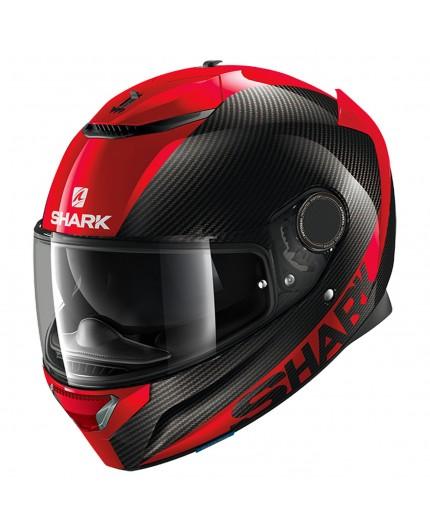 SHARK red / black SPARTAN CARBON SKIN full face helmet