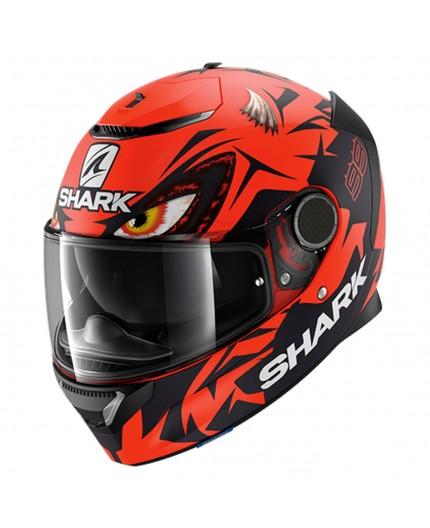 Casco integral SPARTAN Replica Lorenzo Austrian GP de SHARK naranja