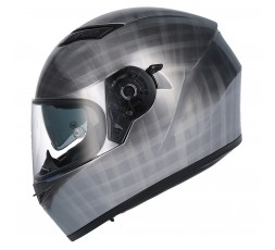 Casco integral SH-600 CHROME SCRATCHED de SHIRO