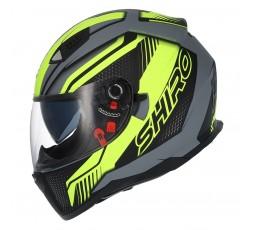 SH-881 SV MOTEGI Yellow full face helmet by SHIRO 1