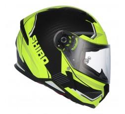Full face helmet SH-890 LOSAIL by SHIRO Yellow / Matte black 1