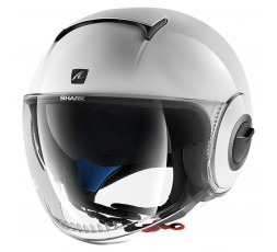 Casco JET NANO de SHARK Blanco