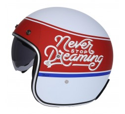 Open face Helmet SH-235 Never Stop Dreaming by SHIRO 1