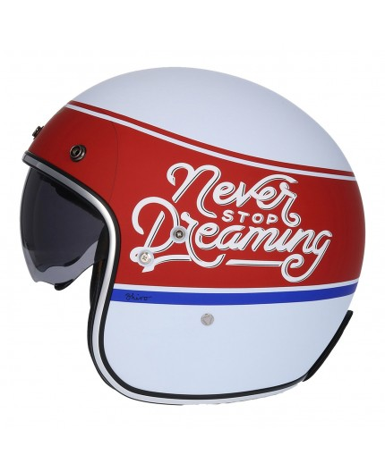Open face Helmet SH-235 Never Stop Dreaming by SHIRO
