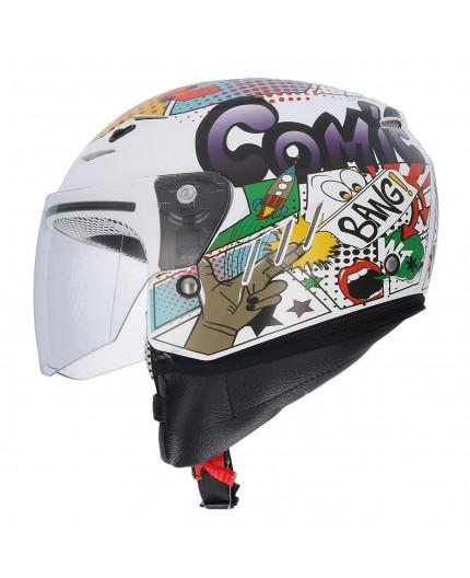 Open face SH-20 COMIC II Helmet by SHIRO