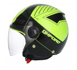 Casco Jet SH-62 Oxford de SHIRO Amarillo