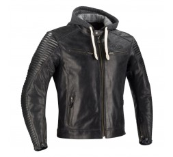 Cafe Racer DORIAN motorcycle leather jacket by SEGURA 1