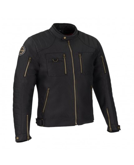 Chaqueta moto textil estilo Cafe Racer o Urban RAMSEY de BERING