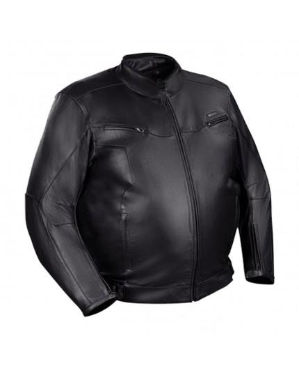 Blouson moto en cuir pour homme BERING GRINGO KING SIZE