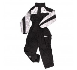 IWAKI Rain Motorcycle Suit Black and white by Bering 1
