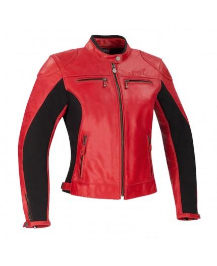 Blouson moto en cuir pour femme modèle LADY KROFT de SEGURA