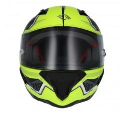 Full face helmet SH-890 LOSAIL by SHIRO Yellow / Matte black 2