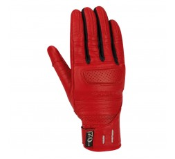 LADY HORSON red leather motorcycle gloves by SEGURA 1