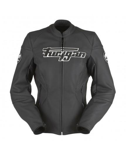 Leather motorcycle jacket KALI D3O by FURYGAN