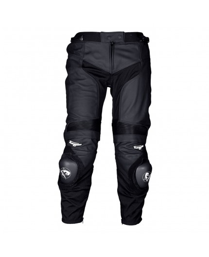 D3O VELOCE men's motorcycle leather pants by FURYGAN