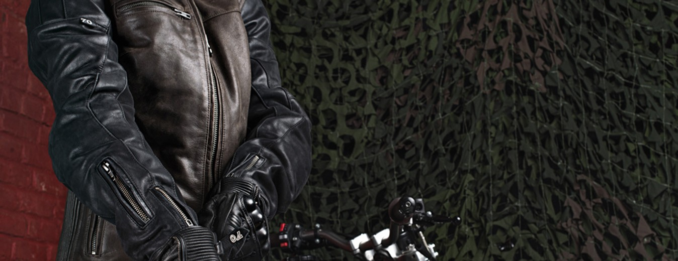 Homologated motorcycle jacket